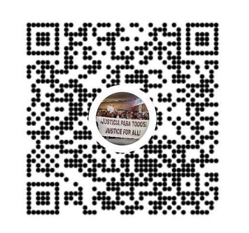 Venmo QR Code to donate to Pima County Justice for All